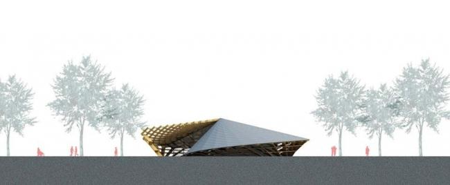 Общественный центр для пожилых © Kengo Kuma and Associates