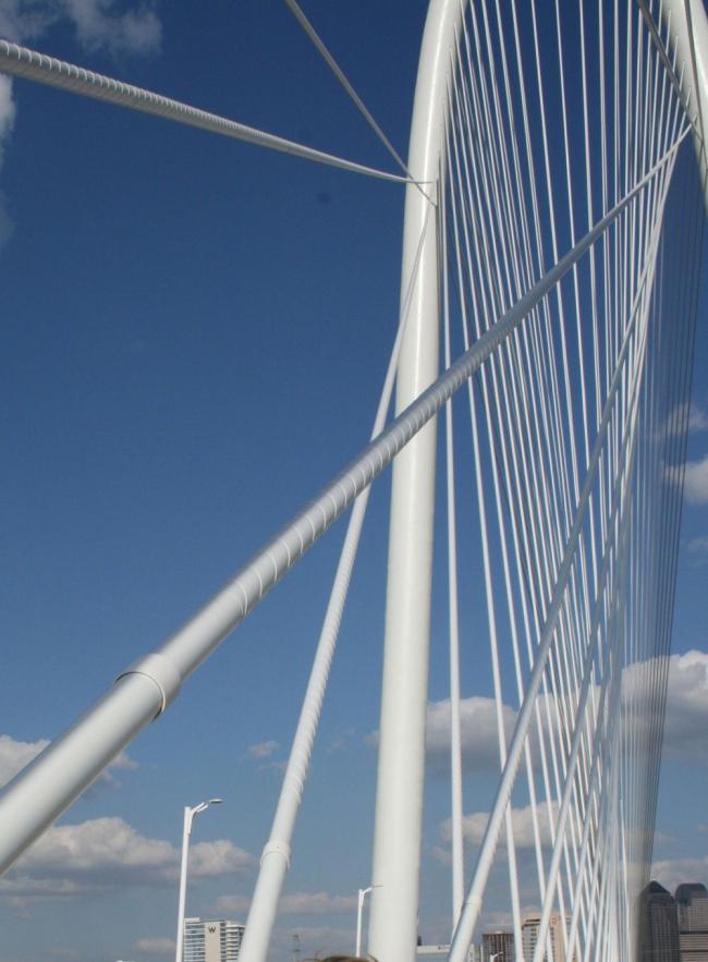 Мост Маргарет Хант Хилл. Фото The Trinity Trust