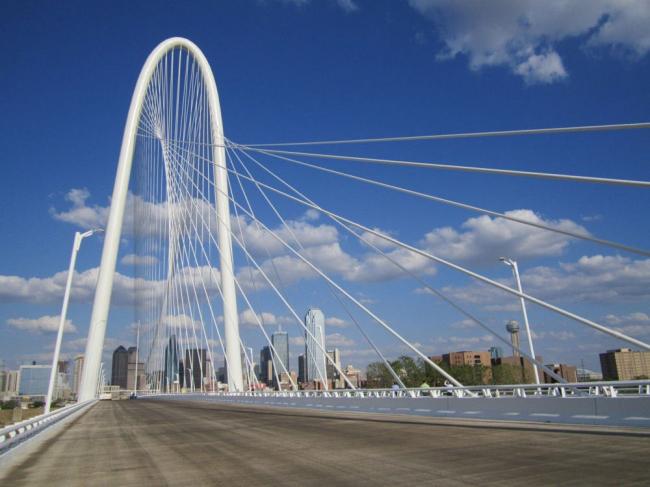 Мост Маргарет Хант Хилл в Далласе. Фото: The Trinity Trust