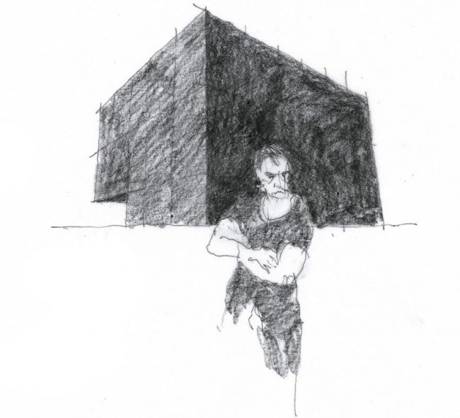 Павильон Австралии на Венецианской биеннале. Эскиз проекта © Denton Corker Marshall