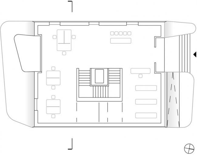 Полицейский участок в Местиа © J. MAYER H. Architects