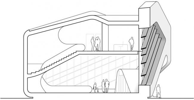Здание суда и общественный центр в Местиа © J. MAYER H. Architects