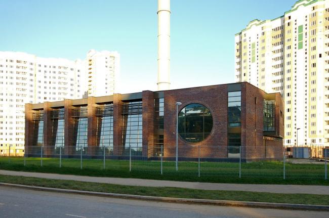 The boiler-house building. Implementation, 2008 © Arkhstroydesign