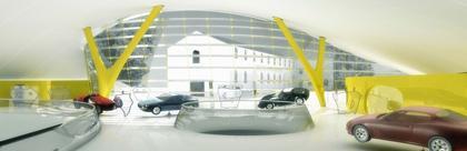 Музей Мазерати. 2007 г. Проект. Фото макета