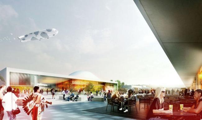 Театр и зоопарк Эммена © Henning Larsen Architects