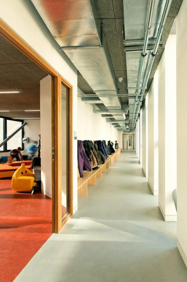 Школьный центр имени Люси Обрак © Dietmar Feichtinger Architectes / Photo: David Boureau