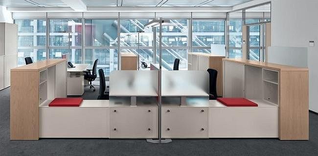 Интерьеры офиса Немецкой железнодорожной компании Deutsche Bahn
