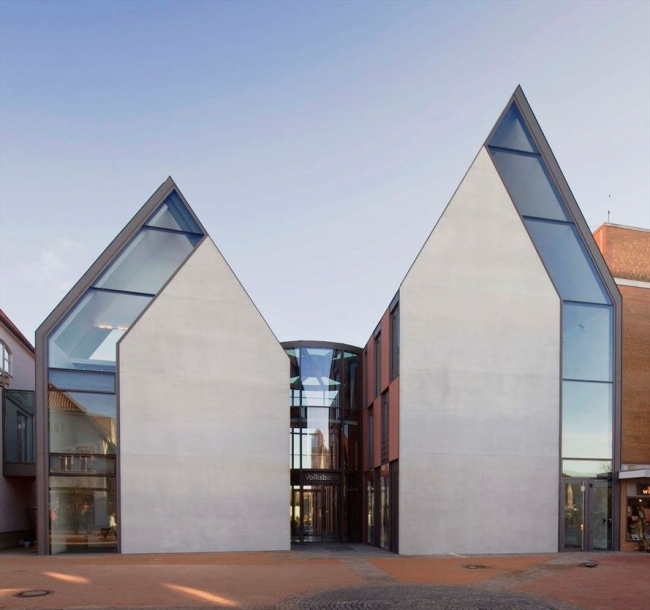 Здание Volksbank © Olaf Mahlstedt