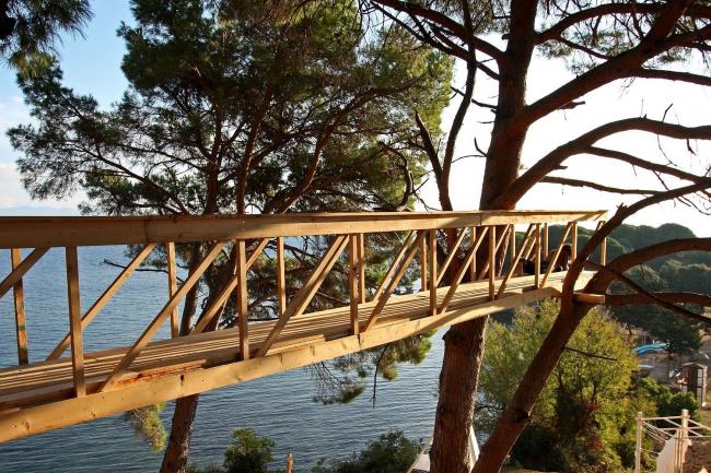 Мост в Греции. Фотография Ивана Овчинникова