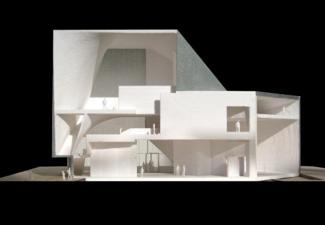 Институт современного искусства университета Содружества Вирджинии © Steven Holl Architects