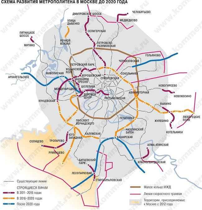 план развития метро до 2035 года схема москва вот тут-то