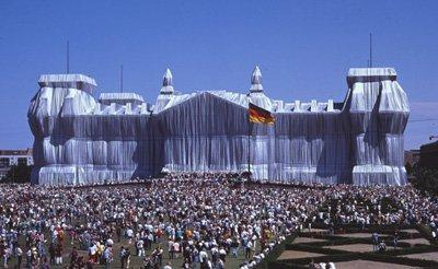 Wrapped Reichstag