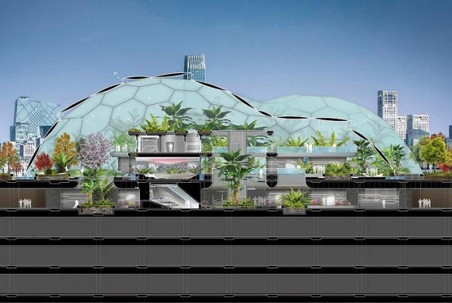Дом будущего в Пекине. © LAVA