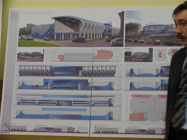 Проект реконструкции дворца ледового спорта «Центральный»