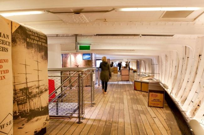 «Катти Сарк» – проект музеефикации © Jim Stephenson