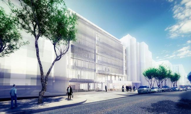 Офисный комплекс Leblon Offices © Richard Meier & Partners