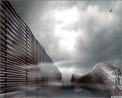 Руди Риччотти. Музей Лувр-Ланс. Конкурсный проект