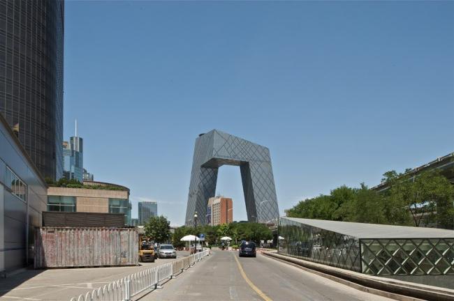 Здание Центрального Китайского Телевидения © OMA / Philippe Ruault