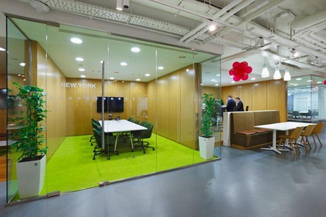 Организация пространства: офис компании EF English First - архитектурное бюро KAD design.