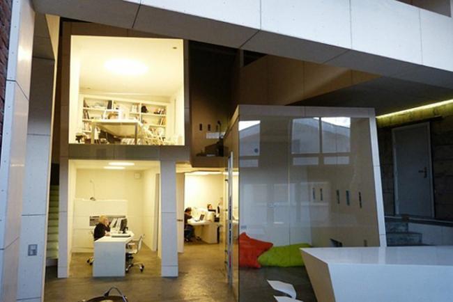 Дизайн-идея: собственный офис архитектурного бюро NEFAresearch — NEFAresearch. Фотографии Уилл Вебстер (Will Webster).