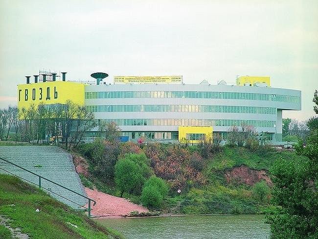 Торговый центр «Гвоздь» на Волоколамском шоссе. Бюро «Остоженка»