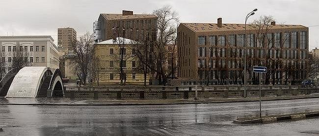 Жилой дом в Тессинском переулке. Сергей Скуратов ARCHITECTS