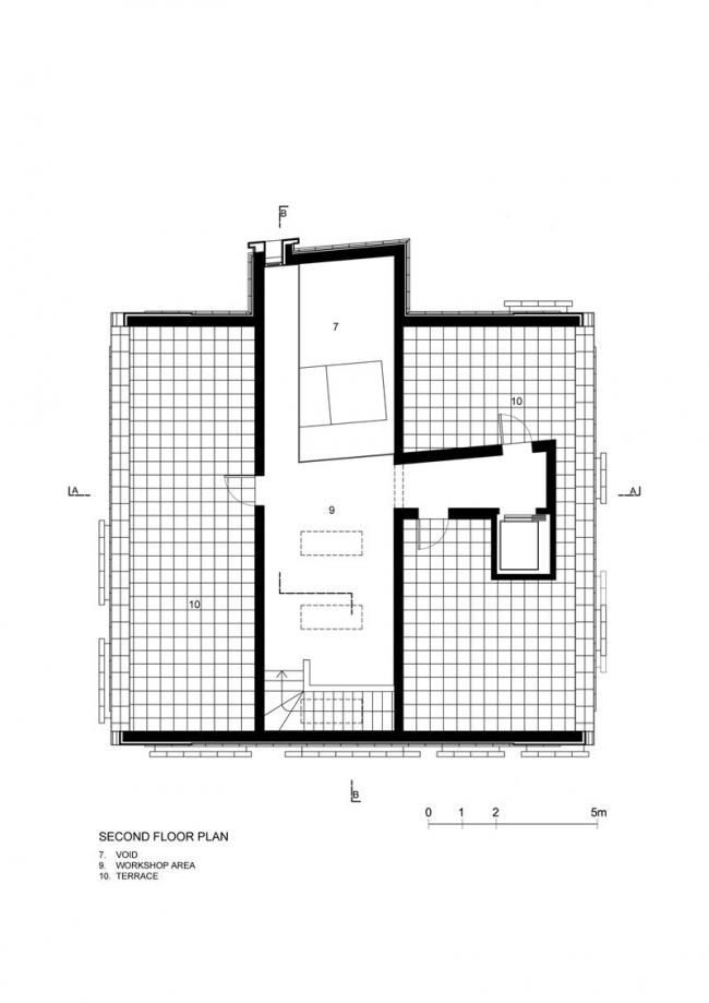 Музей Беноццо Гоццоли. План 3-го этажа © Massimo Mariani Studio