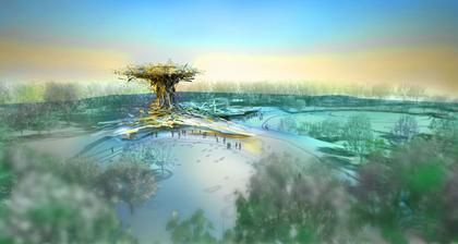 Посетительский комплекс Шервудского леса