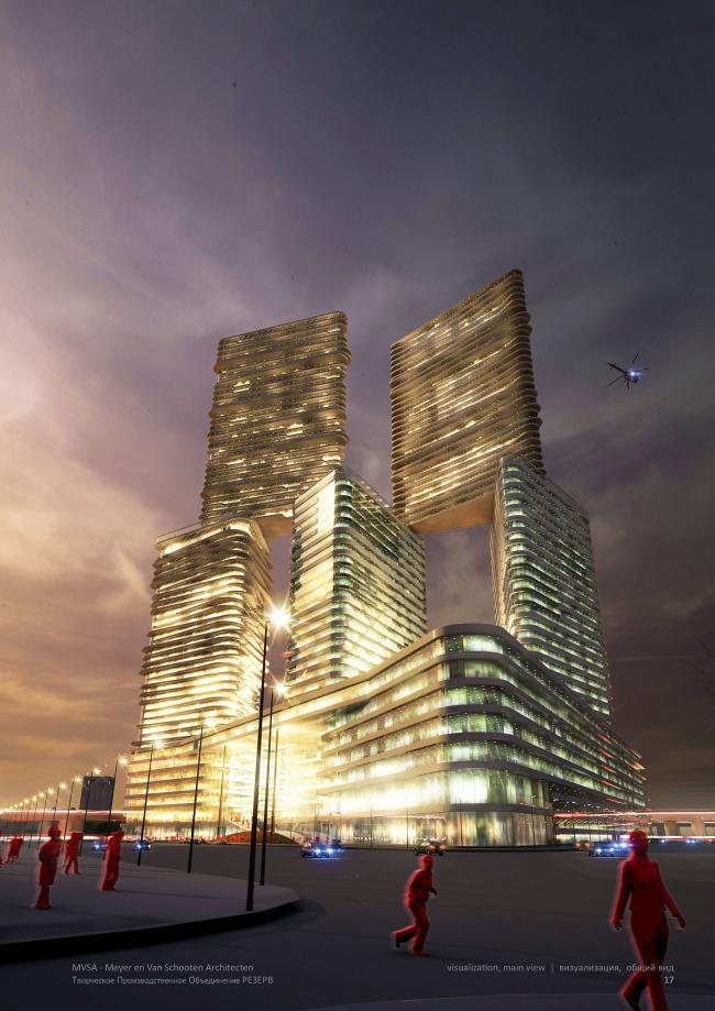 М-Сити. © ТПО «Резерв» & MVSA