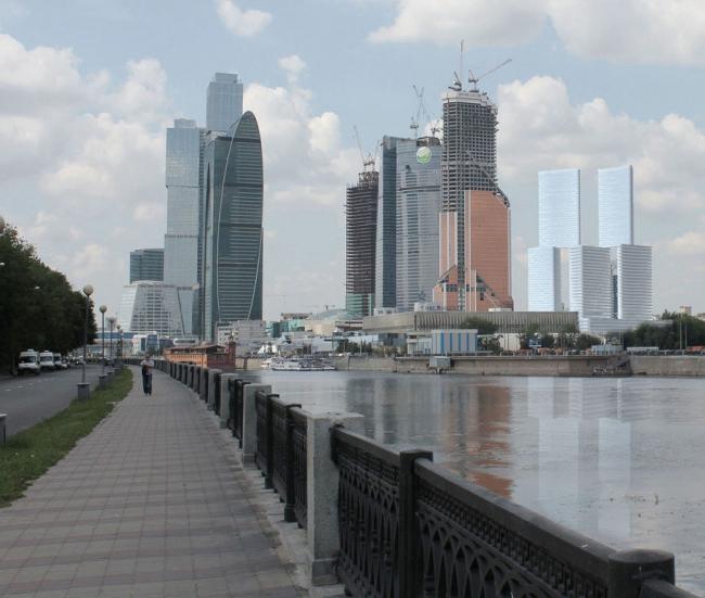 М-Сити. Встройка в панораму Сити © ТПО «Резерв» & MVSA