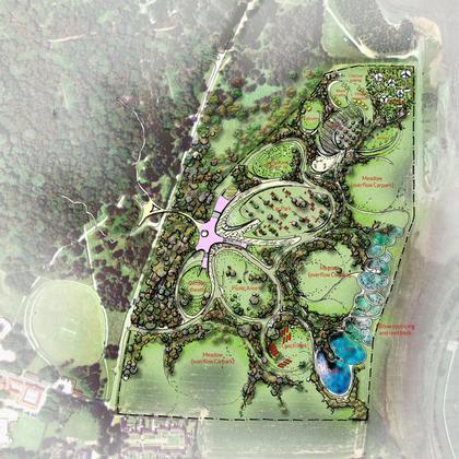 Посетительский комплекс Шервудского леса. Генеральный план