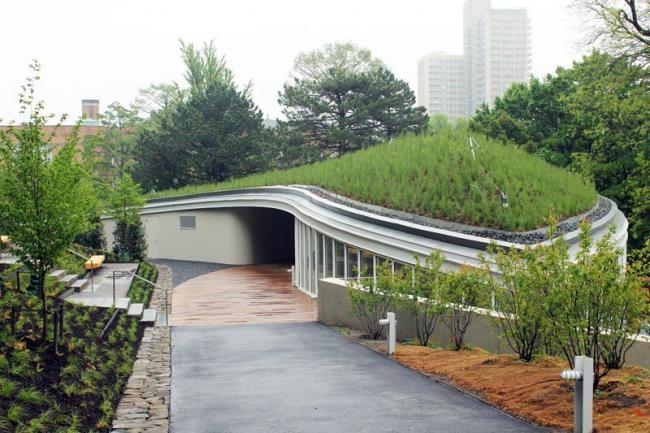 Посетительский центр Бруклинского ботанического сада. Фото с сайта ny.curbed.com
