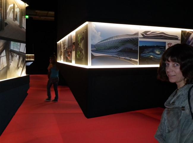 Вера Бутко, бюро «Атриум», один из участников экспозиции «Слож(ен)ность», на выставке