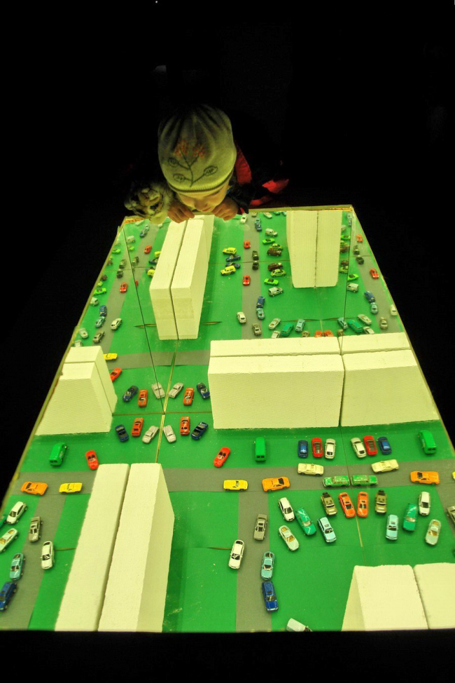 Вид экспозиции «Block City». Фото Нины Фроловой