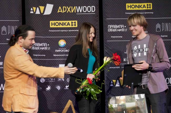 Архитектурное бюро «Полигон» получило вторую премию в номинации «Загородный дом». Фотография Анны Пешковой