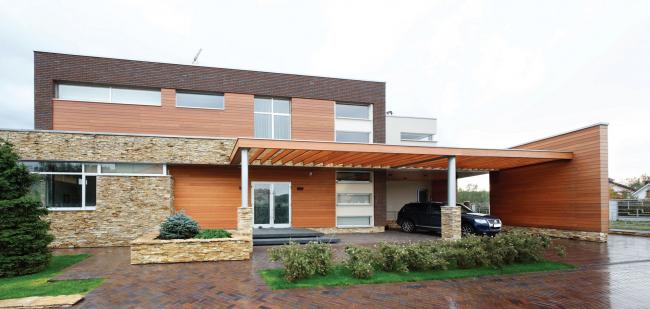 «Oak land» house», автор проекта дома Роман Леонидов, автор интерьера – Анастасия Леонидова.