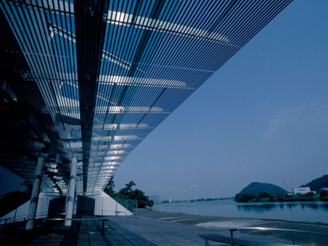 Kitakami Canal Museum, 1999. Фотографии объектов kengo kuma&associates