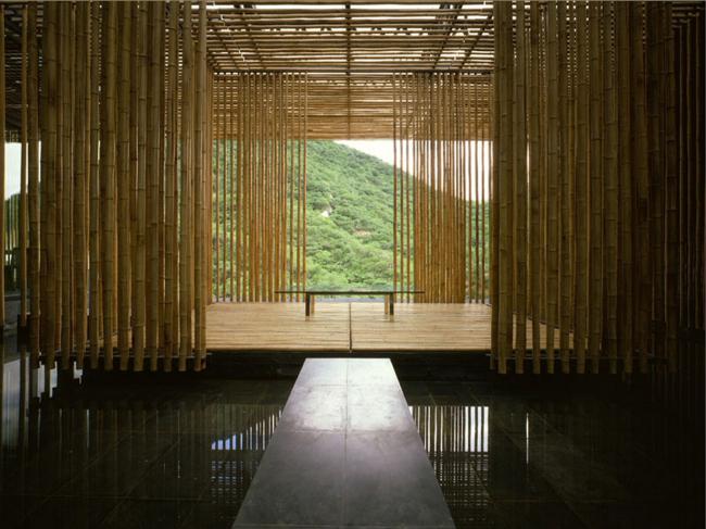 Great (Bamboo) Wall, 2002