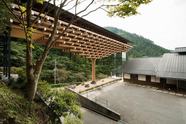 Yusuhara Wooden Bridge Museum, 2009