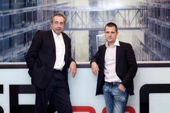 Сергей Чобан и Сергей Кузнецов были названы на Арх Москве архитекторами года. Фотография предоставлена бюро SPEECH Чобан&Кузнецов