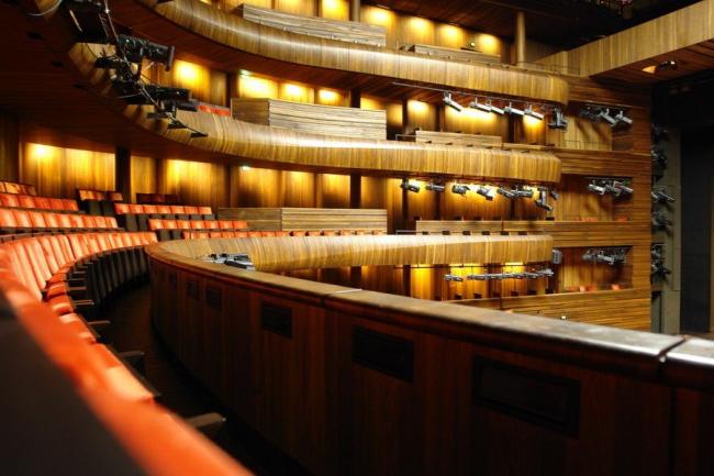 «Снохетта». Зал Национального оперного театра в Осло. Фото Нины Фроловой