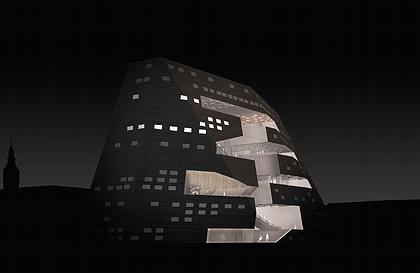 NL Architects. Forum Groningen