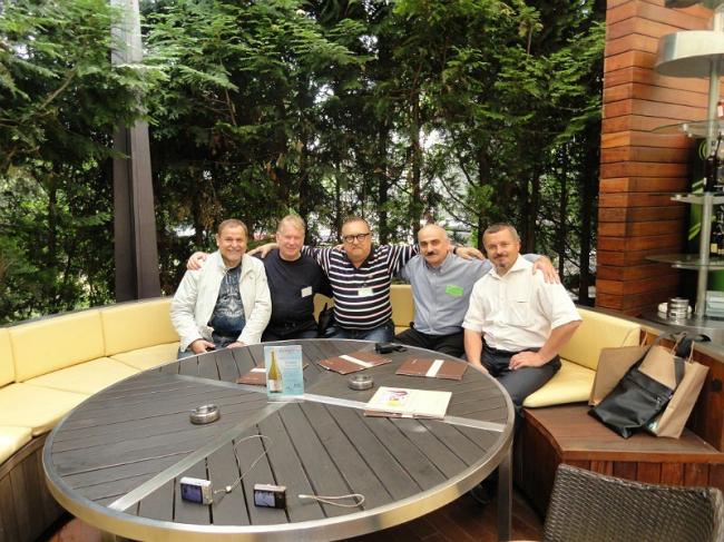 Российские участники «Интерарх-2012». В центре – Юрий Виссарионов