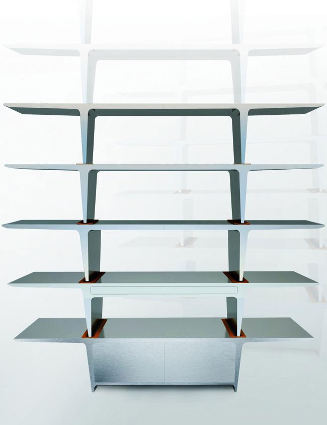 Столы «Профиль» складываются в штабель-стеллаж.