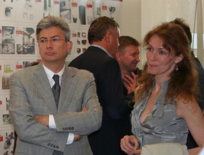 Б.Левянт и И.Приседская авторы проекта ABD'Vise (АБ «ABD architects»)