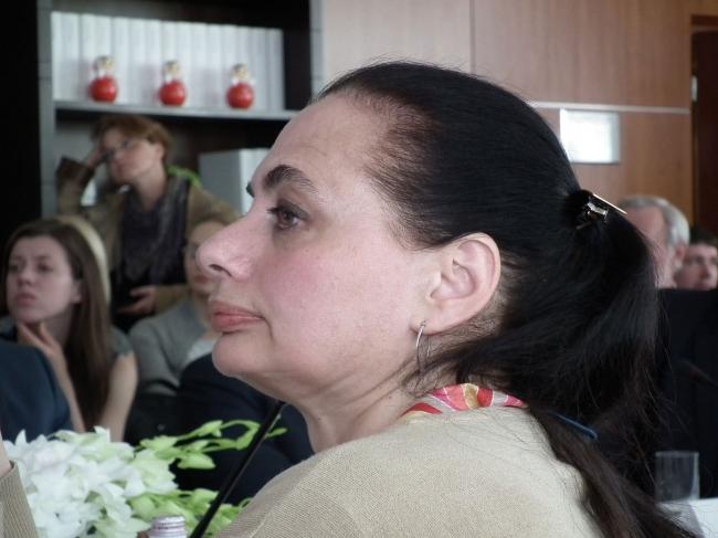 Наталья Душкина. Фотография © Юлия Тарабарина, Архи.ру