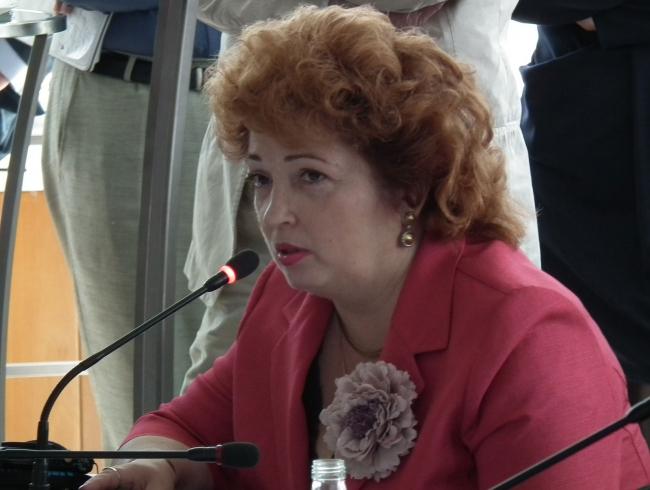 Лариса Лазарева. Фотография © Юлия Тарабарина, Архи.ру