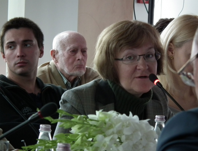 Елена Гонсалес. Фотография © Юлия Тарабарина, Архи.ру