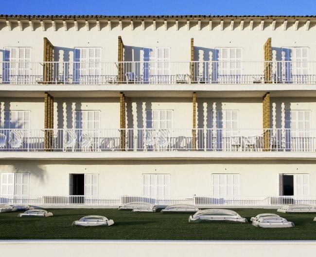Отель Castell dels Hams. Фото Laura Torres Roa, Antonio Benito Amengual