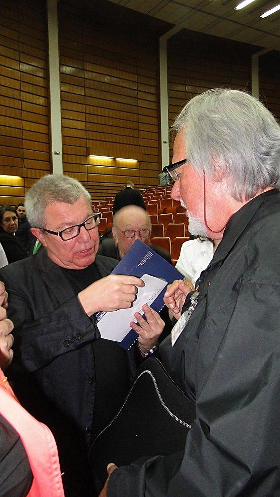 Даниэль Либескинд и Ричард Ингленд на «Интерарх-2012»
